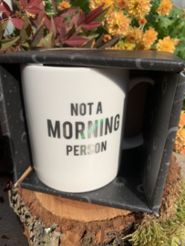 Beker 'Not a Morning Person'