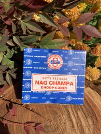 Satya Nag Champa kegeltjes