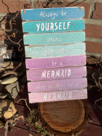 Hangbord Mermaid