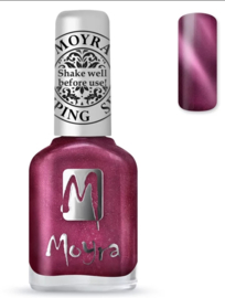 Moyra Stamping Nail Polish sp 32 cat eye red