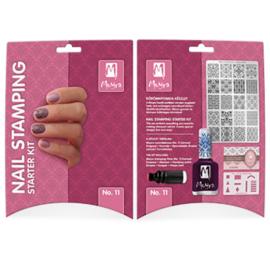 Moyra Stamping Starter Kit 11 Damask Drapery