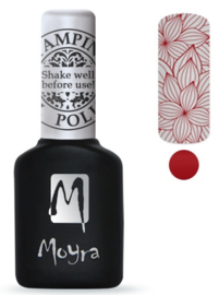 Moyra Stamping Gel Polish sgp06 Red