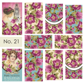 Moyra Nail stickers Waterdecals 21
