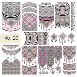 Moyra Nail stickers Waterdecals 20