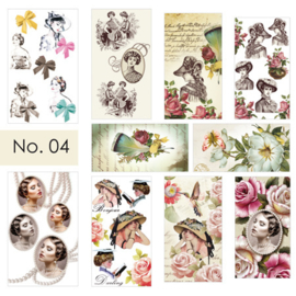 Moyra Nail stickers Waterdecals 04
