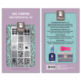 Moyra Mini Stamping Starter Kit 104 My Little Universe