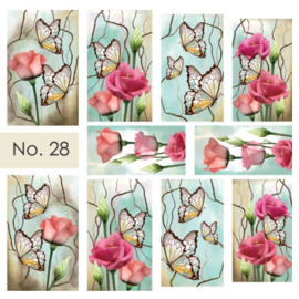 Moyra Nail stickers Waterdecals 28