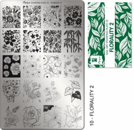 Moyra StempelPlate 10 Florality 2