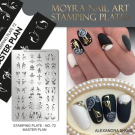 Moyra Stempelplate 72 Master