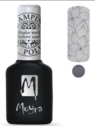 Moyra Stamping Gel Polish sgp02 Grey