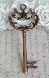 Barok sleutel koper