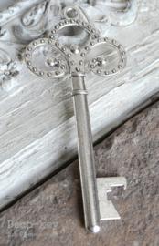 Sleutel vintage zilver flesopener