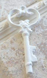 Sleutel gietijzer wit