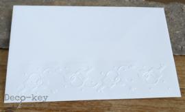 Envelop met sleutelbos afdruk in vele kleuren