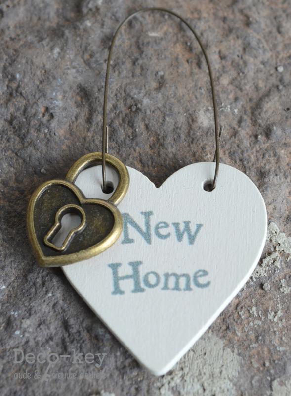 Tag hartje met slotje New Home