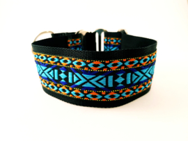 Martingale halsband 'Indian', 5cm breed