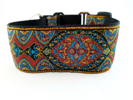 Martingale halsband 'multicolor', 5cm breed