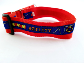Martingale halsband 'Agility', 2.5cm breed