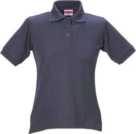 Dames polo donker blauw