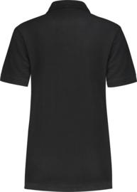 Dames polo shirt zwart