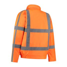 Pilotjack Oranje RWS reflectie