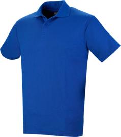 Stevige Workman polo korenblauw