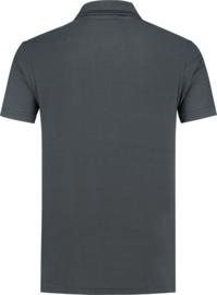 Stevige Workman polo navy donker grijs