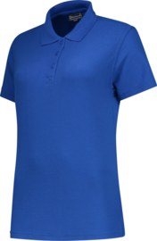 Dames polo royal blue