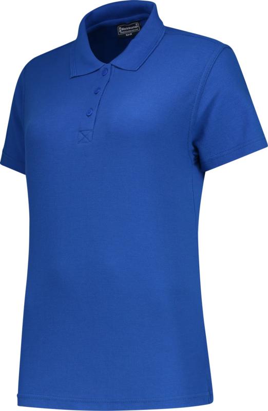 Dames polo royal blue