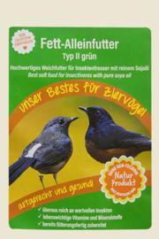 Claus universeelvoer II Groen 500gram (claus Fett-Alleinfutter Typ II grün)