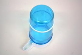 Fontein blauw 400ml (Fontäne weiß-blau-getönt 400 ml)