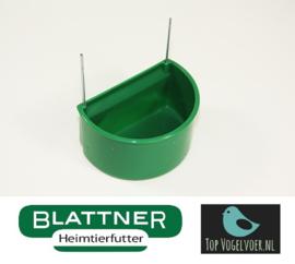Semi-round Bowl Green Medium (Halbrundnapf grün groß)