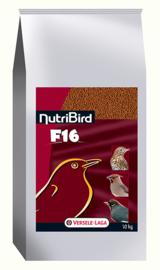 Nutribird F16 Lijster / Merel 10kg (F16 NutriBird- für Stare, Drosseln, Amsel u.ä. )