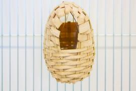 Nestkorf riet klein (Exotenkörbchen - Peddigrohr klein)