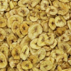 Blattner gedroogde Banaan 500gram (Bananen getrocknet )
