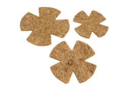 Inlegnest kokos-sisal 8-9cm per 5 stuks (Nesteinleger Cocos-Sisal gestanzt 8-9 cm 5 Stück)