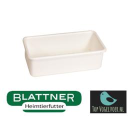 Plastic Food Bowl 10.6 x 5.4 x 3.4 cm (Napf rechteckig 10,6 x 5,4 x 3,4 cm)