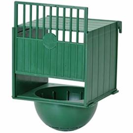 Voorhangnest kunststof groen (Kaisernest aus Kunststoff grün)