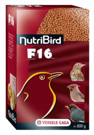 Nutribird F16 Lijster / Merel 800gram (F16 NutriBird- für Stare, Drosseln, Amsel u.ä. )