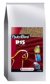 Nutribird P15 Original Onderhoudsvoer Papegaai 10kg (P 15 Original - Erhaltungsfutter NutriBird)
