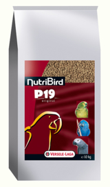 Versele-Laga Nutribird P19 Original Breed Parrot 10kg (P 19 Original - Zuchtfutter NutriBird)