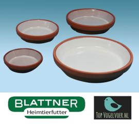 Stone Food Bowl Glazed 12 / 13cm (Tonuntersetzer 12/13 cm glasiert)