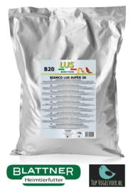LUS B20 Bianco Pâtée Aux Oeufs 20% Protéine 1kg (Lus Bianco Super 20% trocken)