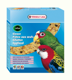 Versele-Laga Orlux Eggfood Dry For Parrots 4kg (Orlux Großsittiche u. Papageien)
