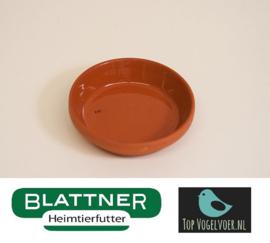 Stone Food Bowl Glazed 6/7 cm (Tonuntersetzer 6/7 cm glasiert)