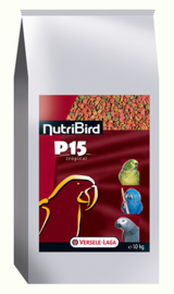 Nutribird P15 Tropical Aliment d'entretien 10kg (P 15 Tropical - Erhaltungsfutter NutriBird)