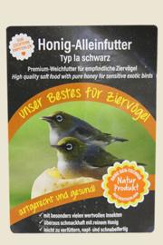 Claus Honeyfood Black 500gram (claus Honig-Alleinfutter Ia schwarz)