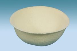 Inlegnest vilt Ø 10cm (Nesteinleger Filz weiß 10 cm)