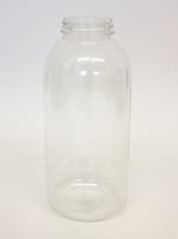 Spare Bottle of Plastic For Dispenser  1 liter (Ersatzflasche Plastik 1 Liter)