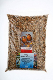 Claus Dried Insectfood/Universal Softbill Food Type I Rood 1000gram (claus Trocken-Weichfutter Typ I rot)